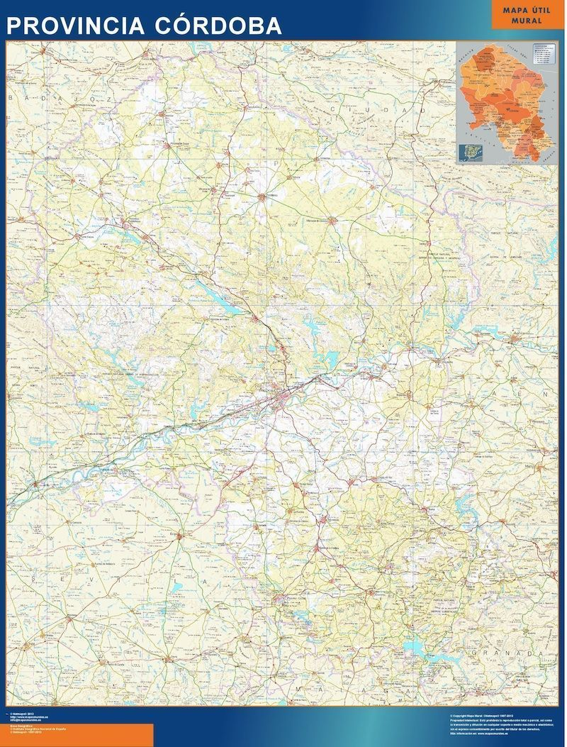 mapa cordoba