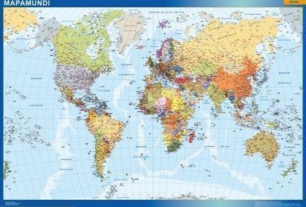 comprar mapamundi espanol