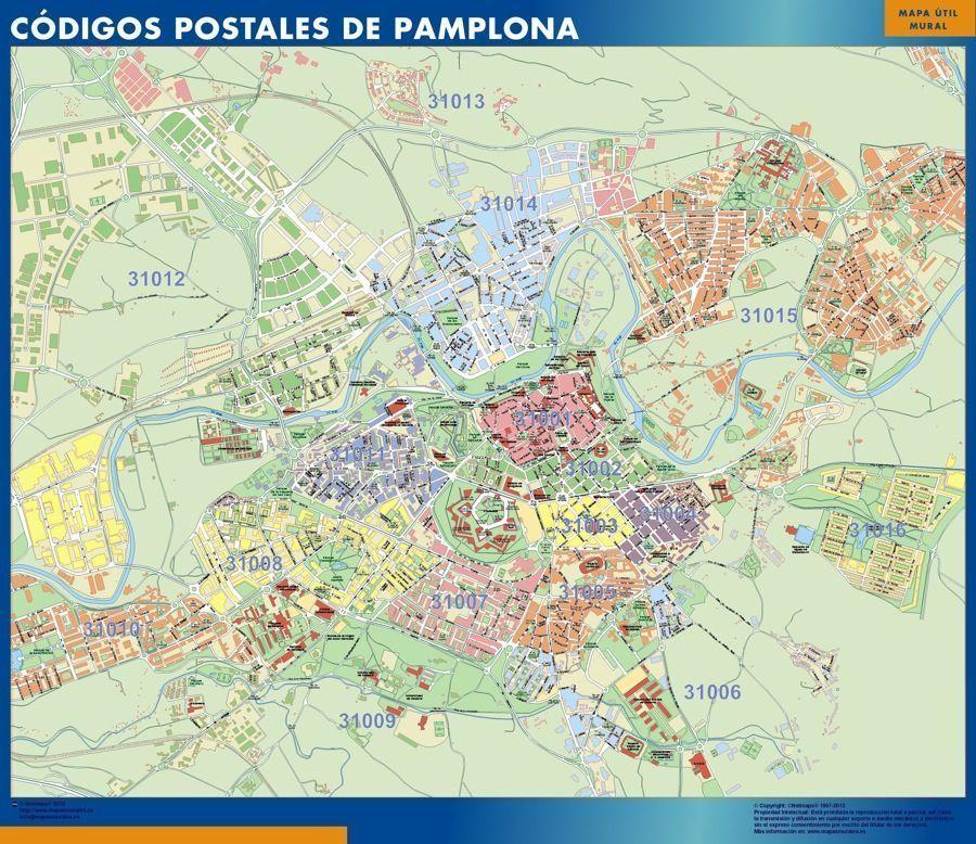 Donde se puede mapa pamplona c digos postales para la oficina o para casa online - Oficinas la caixa bilbao ...