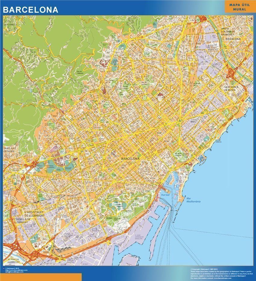 Mapa Callejero de Barcelona