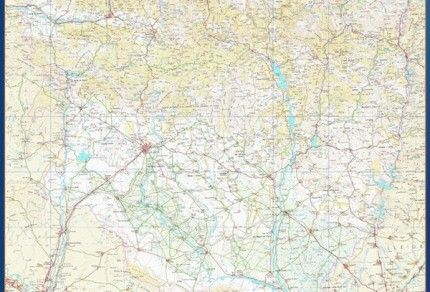 mapa provincial huesca