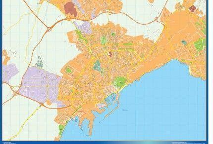 Callejero de Alicante en la provincia alicantina de la Comunidad Valenciana