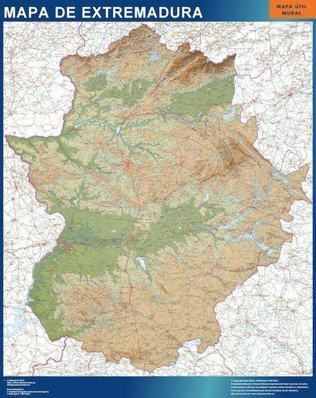 mapa extremadura