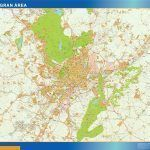 Madrid Gran Mapa Area