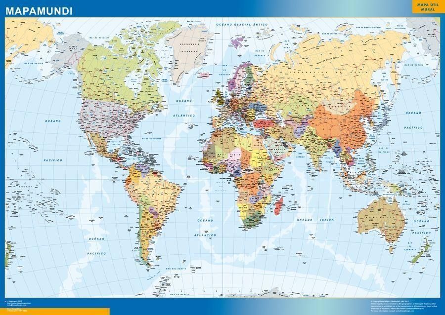 Mapa Mundo Actualizado