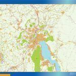 Mapa Annecy magnetico