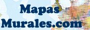 Mapas de España y del Mundo murales