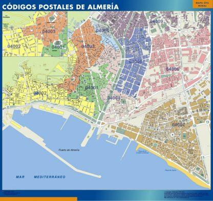 Almeria códigos postales gigante