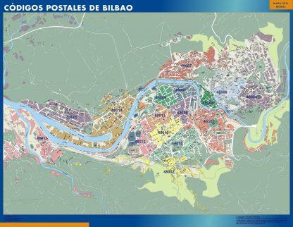 Bilbao códigos postales gigante