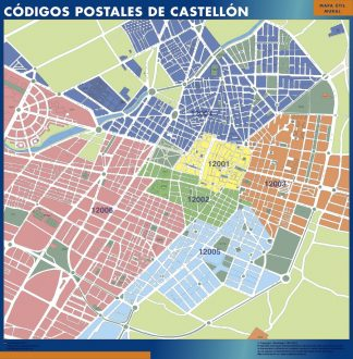 Castellon códigos postales gigante