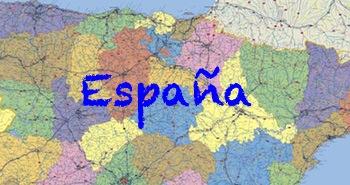 Comprar mapas de España