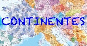 Comprar mapas de continentes