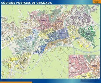Granada códigos postales gigante