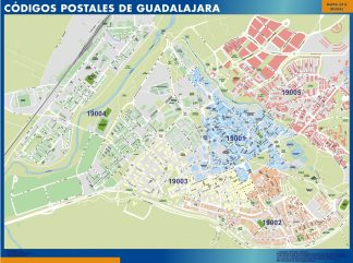 Guadalajara códigos postales gigante