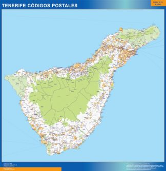 Isla Tenerife códigos postales gigante