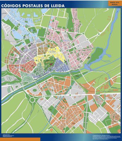 Lleida códigos postales gigante
