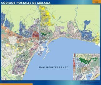 Malaga códigos postales gigante