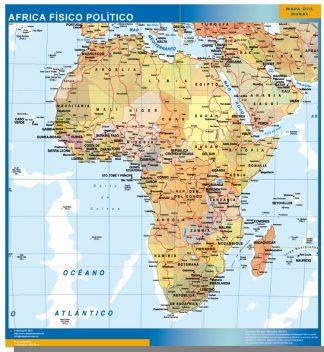 Mapa Africa gigante