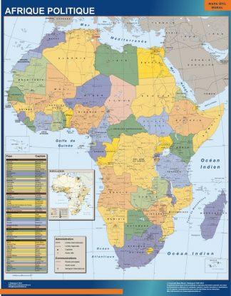 Mapa Africa Politico gigante
