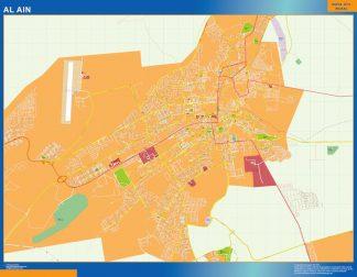 Mapa Al Ain gigante