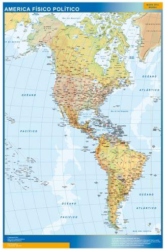 Mapa America gigante