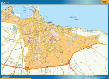Mapa Bari gigante