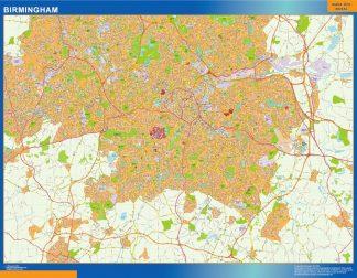 Mapa Birmingham gigante