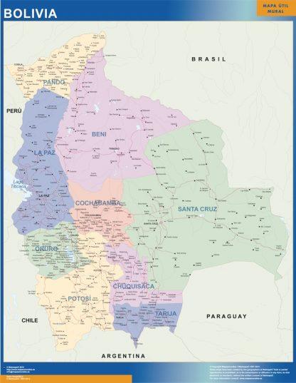 Mapa Bolivia gigante