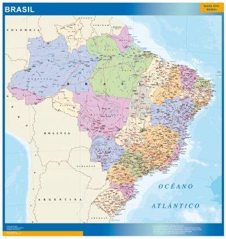 Mapa Brasil gigante