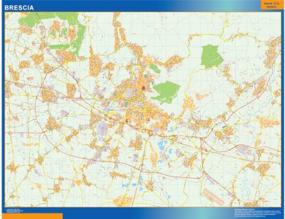 Mapa Brescia gigante