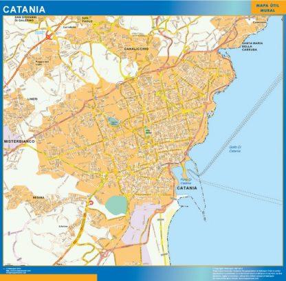 Mapa Catania gigante