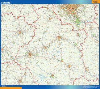Mapa Centre en Francia gigante