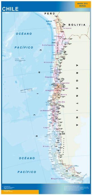 Mapa Chile gigante