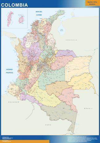 Mapa Colombia gigante