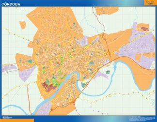 Mapa Cordoba callejero gigante