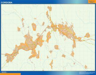 Mapa Cordoba en Mexico gigante