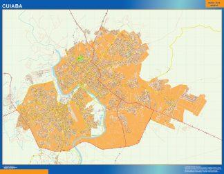 Mapa Cuiaba Brasil gigante