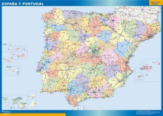 Mapa España básico gigante