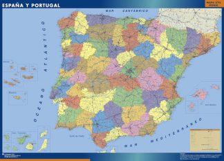 Mapa Espana Provincial gigante