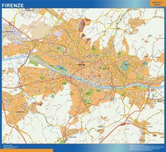 Mapa Firenze gigante