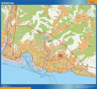 Mapa Genova gigante