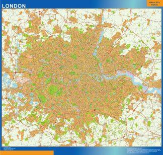 Mapa Gran Londres gigante