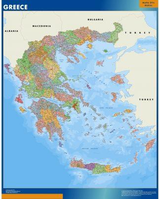 Mapa Grecia gigante