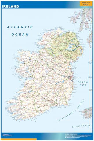 Mapa Irlanda gigante