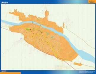 Mapa Jujuy en Argentina gigante