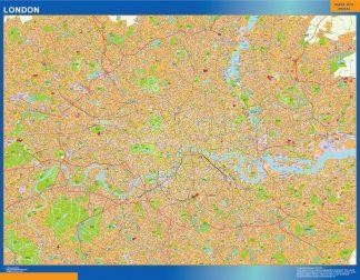 Mapa Londres gigante