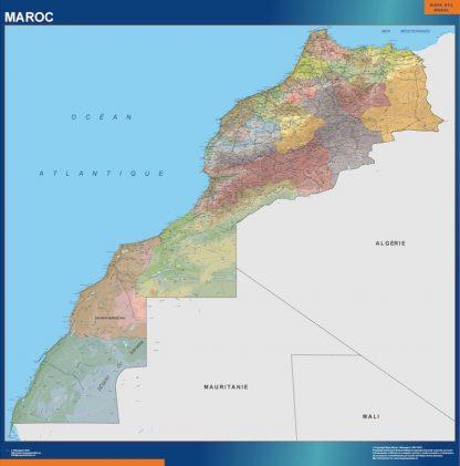 Mapa Marruecos gigante