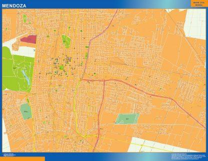 Mapa Mendoza en Argentina gigante