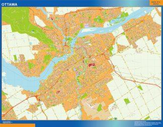 Mapa Ottawa en Canada gigante