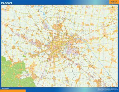 Mapa Padova gigante